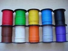 ( 0,13 EUR/m ) 50 m Kabel Litze Schaltlitze Kupferlitze 0,25 mm² freie Farbwahl