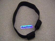 BLACK HEAD BAND HEADSTRAP BULLET CAMERA HOLDER for VIO POV 1.5M POVHD REPLAYXD