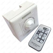 180W IR Remote Control LED Light SCR Dimmer AC 110V/220V Adjustable Wall Switch
