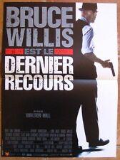 DERNIER RECOURS (Last man standing) AFFICHE CINEMA 53x40 - BRUCE WILLIS