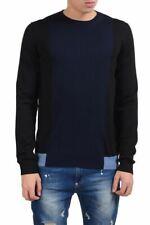 Prada Men's 100% Wool Crewneck Multi-Color Sweater Size XS M