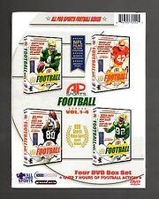 AP Sports: Football Series - Box Set (4-DVD) Brett Favre, Ron Lott, Jerry Rice,