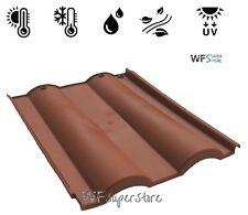 Tegola Doppia Romana in plastica color cotto - tegole tetto coppo terracotta pvc