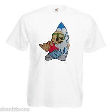 Surfer Dude Surf Adults Mens T Shirt 12 Colours  Size S - 3XL