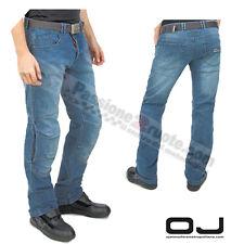 Jeans moto Oj Sole blu