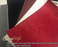 VELVET tutti colore 1.3m x 0.1m 0.2m Panno In Tessuto Veicolo Avvolgere Vinile Wrap Film