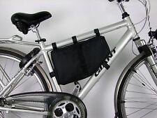 Fahrrad BMX Rahmentasche Fahrradtasche schöne große Tasche NEU SCHWARZ