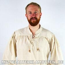 Mittelalter Hemd - 10 Gr. - 6 Farben - TOP PREIS - Baumwolle - Mittelalterhemd
