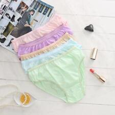12Pcs Women Disposable Tour  Sports Panties Cotton Breathable Triangle Briefs