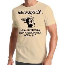 Handwerker T-Shirt | Superheld | Beruf | Bauarbeiter | Baustelle | Mechaniker