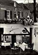 BRONKHORST Gelderland Holland Restaurant Het Wapen Van Bronkhorst AK ~1960/70
