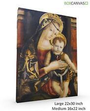 Carlo Crivelli RINASCIMENTO ITALIANO VENEZIANO 4 foto su tela Wall Art