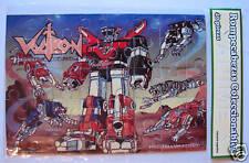 VOLTRON JIGSAW PUZZLE ANIME ARGENTINA RARE 1984 MIP