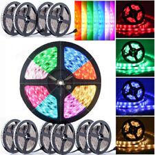 50M 25M 10M 5M 3528 5050SMD LED RGB Color Change Strip Light Flexible Dimmable