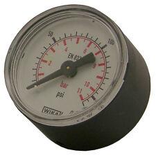 "ATG4 -PCL 1/8 BSP Rear Entry Pressure Gauge For Use With 1/4"" & 1/2"" Regulators"