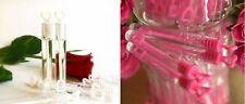 48 tlg Seifenblasen Set verschiedene Farben Herzgriff Hochzeit & Gastgeschenk