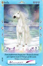 """CARTE CARD Cheval Horse """" BELLA SARA """" Série * TRÉSORS FABULEUX *  N° AUX CHOIX"""