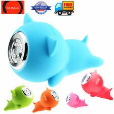 EW Cute Cartoon Piggy Portable Waterproof Mini Bluetooth Wireless Speaker