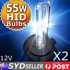 Pair H1 55W Xenon HID Bulbs Globe Light Headlamp 4300K/5000K/6000K/8000K/10000K
