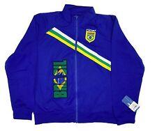 Brazil Royal Blue Track Jacket Design By Rinat 100% Polyester