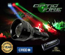 Opticfire® TX-67 T67 mini LED hunting light torch lamping lamp IR night vision