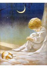 Slumberland by Annie Benson Müller (Art Print of Vintage Art)