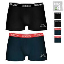 KAPPA-pakket van 4 boxershorts voor heren in zwart en marine