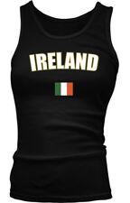 Ireland Irish British Isles Island Flag Country Pride Gaelic Boy Beater Tank Top