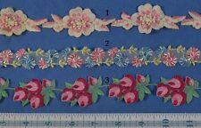 Pick Swiss Vintage Embroidered Floral Trim