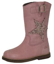 Clic! 8851 Mädchen Boots Stiefel Stern Leder Rosa Wolle Schuhe 25-32 Neu