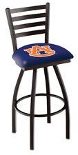 Auburn Tigers HBS Navy Ladder Back High Top Swivel Bar Stool Seat Chair