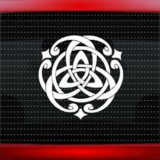 Trinity Celtic Knot #1 Christian Car Decal Window Sticker Irish Cross 20 COLORS!