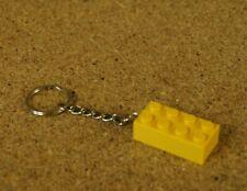 Lego Key chain keyring Brick 2 x 4 NEW Genuine Lego Brick