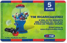RICARICA CELLULARI TIM REGALA & VINCI VERDE 5 EURO DIC 2011