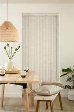 Vertical Blind - Headrail and Slats - Fabric Louvolite Linara - Made to Measure