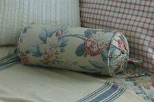 NEW Custom Ralph Lauren Lake House Floral Neck Roll Pillow Neckroll