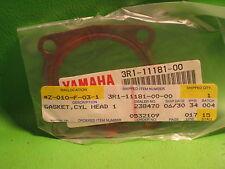 YAMAHA YZ80G 1980 COPPER CYLINDER HEAD GASKET OEM # 3R1-11181-00