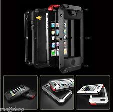 Waterproof Shockproof Aluminum Gorilla Metal Cover Case for iPhone 5 5S 6 6S 7
