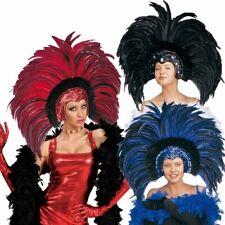Brasilianischer Federkopfschmuck, Showgirl Federschmuck, Samba Feder Schmuck Rio