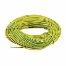 Funda de Tierra Pvc Verde Amarillo 2 3 4 5 6mm cable de alambre eléctrico Zócalo Luces