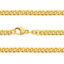 Juwelier Weit Panzer Kette Stärke 2,6 mm Echt Gold 333 Männer Länge 50 55 60 cm