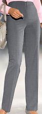 Business Hose grau Gr. 52 Toni Dress MONA Glencheck kaschiert edel Luxus NP109€