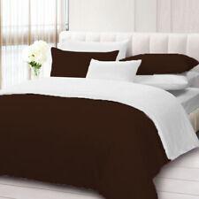 800TC Solid Reversible 1 Piece Duvet Cover 100% Egyptian Cotton All Size & Color