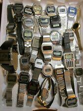 Vintage LCD LED Uhr Watch Chronograph JUNGHANS PIRATRON ANKER TIMEBAND PRÄTINA