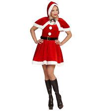 Vestito Babba Natale Abito Natalizio Miss Santa PS 25819