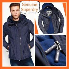 #9839@ XL  XXL ~  Mens GENUINE Superdry NAVY Fleece Windchester NAVY Jacket -NEW