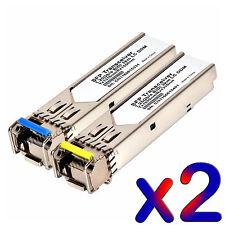 3 km WDM BiDi SFP 1G DDM LC/SC GLC-BX-D GLC-BX-U 1310/1550 transceiver 2pc (1+1)