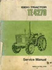 ISEKI TRATTORE te4270 Workshop Service Manual
