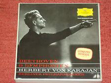 7 LP BOX H. V. Karajan Beethoven 9 sinfonie DGG
