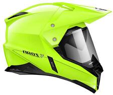Zoan Synchrony Duo-Sport Hi-Viz Yellow Dual Sport Adventure Motorcycle Helmet